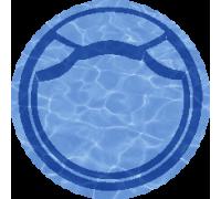 Композитный бассейн (купель) Глория д. 2,66*1,00 м.
