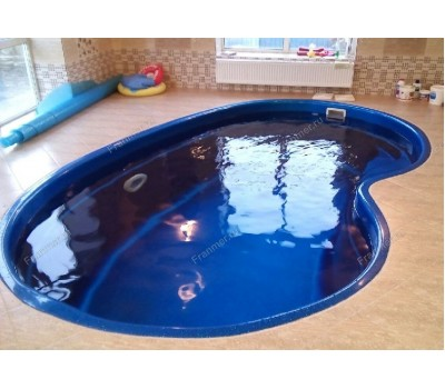 Композитный бассейн Барселона 4,30*2,70*1,55 м., Франмер (Россия/Франция), цвет на выбор