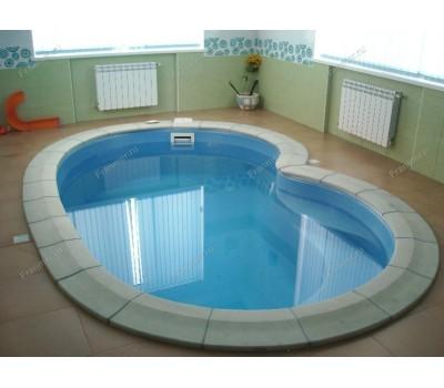 Композитный бассейн Барселонет 4,00*2,50*1,30 м., Франмер (Россия/Франция), цвет на выбор