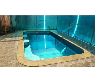 Композитный бассейн Де Пальмьер 5,30*3,00*1,50 м., Франмер (Россия/Франция), цвет на выбор