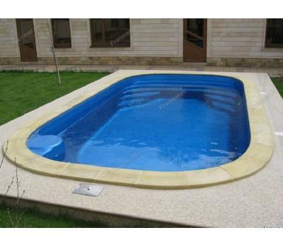 Композитный бассейн Довиль 6,50*3,50*1,50 м., Франмер (Россия/Франция), цвет на выбор