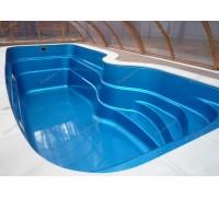 Композитный бассейн Флери 7,50*3,00*1,20-1,81 м., Франмер