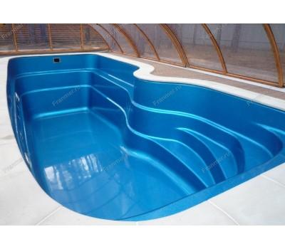 Композитный бассейн Флери 7,50*3,00*1,20-1,81 м., Франмер (Россия/Франция), цвет на выбор