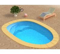 Композитный бассейн Лион-Baby 4,55*3,0*0,9 м., Франмер