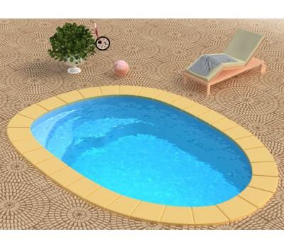 Композитный бассейн Лион-Baby 4,55*3,0*0,9 м., Франмер (Россия/Франция), цвет на выбор