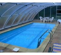 Композитный бассейн Марсель 7,86*3,66*1,25-1,72 м., Франмер