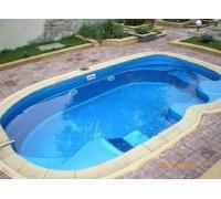 Композитный бассейн Мартиг 6,20*3,70*1,48 м., Франмер