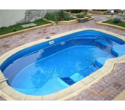 Композитный бассейн Мартиг 6,20*3,70*1,48 м., Франмер (Россия/Франция), цвет на выбор