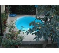 Композитный бассейн Ницца 4,00*3,70*1,40 м., Франмер