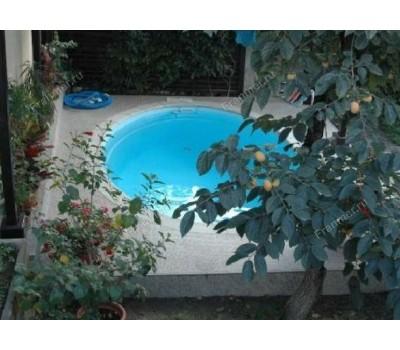 Композитный бассейн Ницца 4,00*3,70*1,40 м., Франмер (Россия/Франция), цвет на выбор