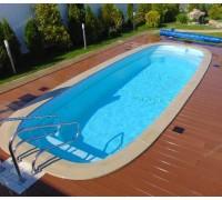 Композитный бассейн Тулон 8,00*3,00*1,55 м., Франмер