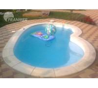 Композитный бассейн Вестфол 4,0*2,5*1,5 м., Франмер