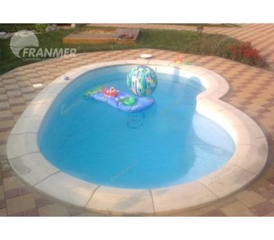 Композитный бассейн Вестфол 4,0*2,5*1,5 м., Франмер (Россия/Франция), цвет на выбор