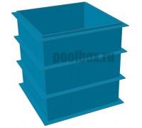 Купель для бани, 1,5 х 1,5 х 1,5 м., из полипропилена