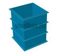Купель для бани, 1,5 х 1,5 х 1,8 м., из полипропилена