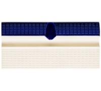 Бортовой элемент для бассейна с поручнем и водостоком кобальт/беж. Aquaviva
