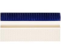 Бортовой элемент для бассейна с поручнем кобальт/беж. Aquaviva