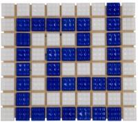 Фриз стеклянный для окантовки бассейна AquaViva греческий