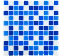 Мозаика стеклянная для бассейна Aquaviva Сristall Bagama Dark 2