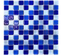 Мозаика стеклянная для бассейна Aquaviva Сristall Bagama Dark