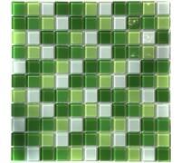 Мозаика стеклянная Aquaviva Сristall Green Light