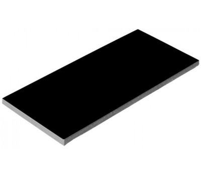 Плитка керамическая глянцевая для бассейна черная Aquaviva