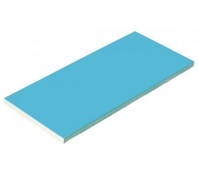 Плитка керамическая глянцевая для бассейна голубая Aquaviva