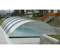 Павильон для бассейна Azure (IPC, Чехия), размер от 6.30*3,65(4,05)*1,00 м., в коробке