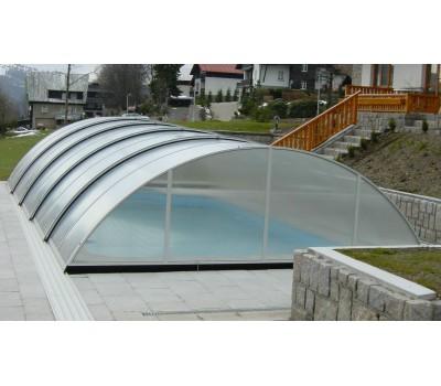 Павильон для бассейна Compact (IPC, Чехия), размер от 6,40*3,30(3,75)*1,10 м., в коробке