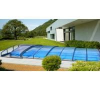 Павильон для бассейна CASABLANCA INFINITY-A (Ideal Cover, Чехия), размер 6.46*3.90(3.62)*0.62 м., в коробке