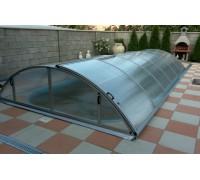 Павильон для бассейна Klassik A (Ideal Cover, Чехия), размер 6.46*3.61(3.33)*1.00  м., в коробке