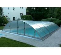 Павильон для бассейна Klassik B (Ideal Cover, Чехия), размер 8,60*4,71(4,29)*1,30  м., в коробке