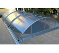 Павильон для бассейна Klassik C (Ideal Cover, Чехия), размер 10.07*5.71(5.15)*1.55 м., в коробке