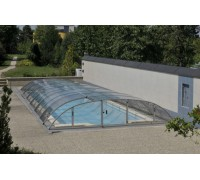 Павильон для бассейна Dallas-B (Ideal Cover, Чехия), размер 8.60*5.20(4.78)*0.85 м., в коробке