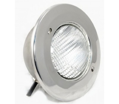 Прожектор (24 Вт) (плитка) светодиодный белый, АТ 16.04, из нерж. стали