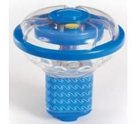 Фонарь плавающий многоцветный с распылителем воды (4хD)  Game  3567