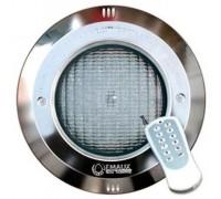 Прожектор для бассейна (16Вт/12В) (плитка) RGB Emaux LED-NP300-S с рамкой из нерж. стали