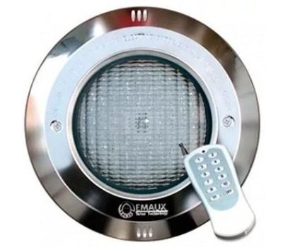 Прожектор (16Вт/12В) (плитка) RGB Emaux LED-NP300-S с рамкой из нерж. стали