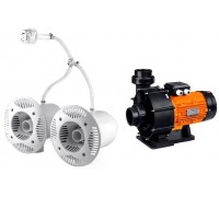 Противоток AquaViva AV-JET-5.5DT Kit (380В, 68м3/час, 5.5HP)