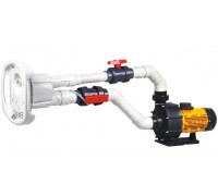 Противоток AquaViva AV-JET-4ST Kit (380В, 56м3/час, 4HP)