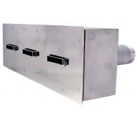 Противоток (150 м.куб./час) (универс.) из нержавеющей стали, ПТ.150 (закладная)