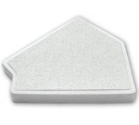 Угол 45гр. для переливной решетки (300мм Н30) Emaux