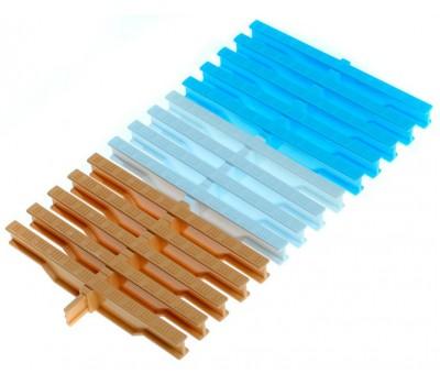 Переливная решетка , высота 22 мм., ширина 195, 245 мм., цвет на выбор