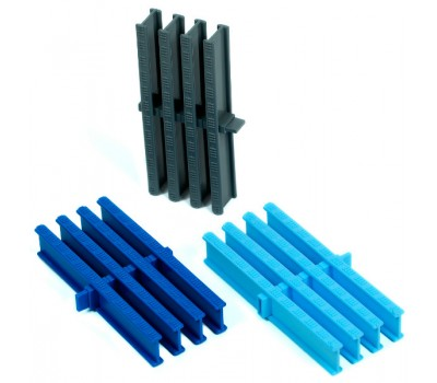 Переливная решетка, высота 34 мм., ширина 195, 245, 295 мм., цвет на выбор