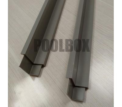 Опорный профиль для переливной решетки 22/34 мм.