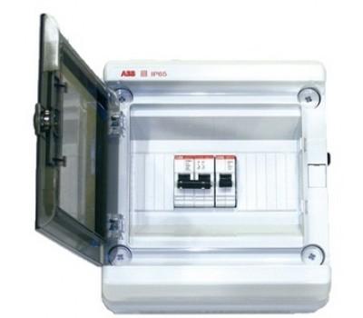 Щит управления электронагревателем воды в бассейне, АВВ