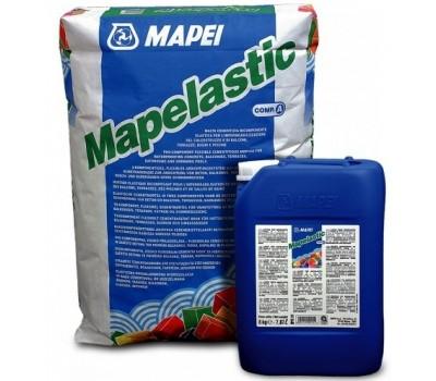 МАПЕЛАСТИК двухкомпонентная гидроизоляция (комплект 25 + 8 кг.), Mapei