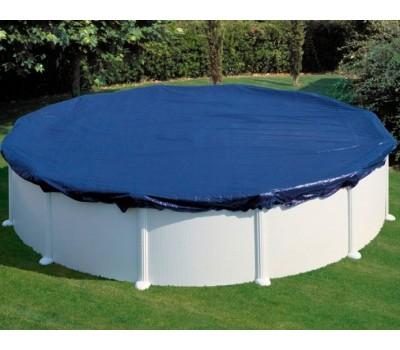Покрывало брезентовое для каркасного бассейна 5.50 (d 640 см) (круг) CIPR551