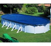 Покрывало брезентовое для каркасного бассейна 5.5*3.7 (680x460 см) (овал) CIPROV611