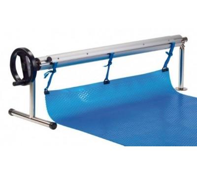 Сматывающее устройство из нерж. стали, с шарниром (поворотное), Vagnerpool